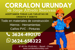 Corralon Urunday